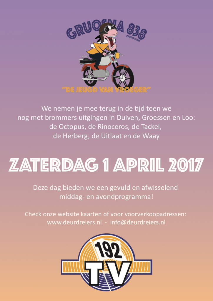 Gruosna 838 2017 flyer voorkant